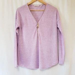 Soft Surroundings Valentina Zip Sweater